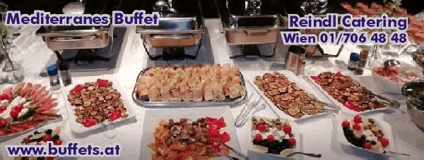 Mediterranes Buffet | Catering Wien